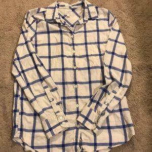 J.Crew factory plaid shirt size small